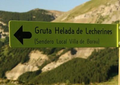 Foto: ojospirenaicos.es. Gruta Helada de Lecherines