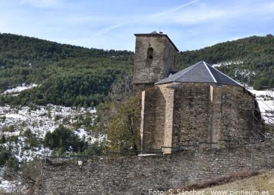 Iglesia Parroquial De Santa Eulalia de Borau.