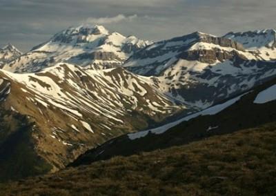 El paisaje desde la Pista de las Blancas Foto: ojospirenaicos.es.