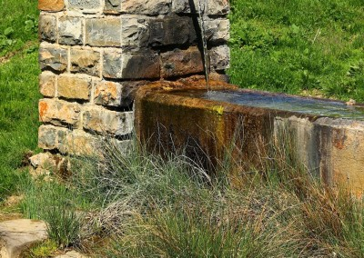Agua refrescante en el plano del Cubilar