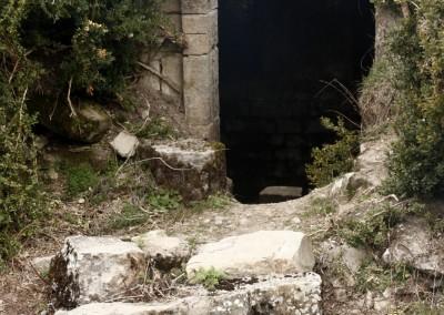 La entrada al Aljibe