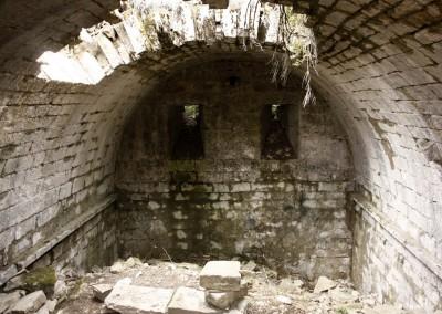 En el interior del Aljibe