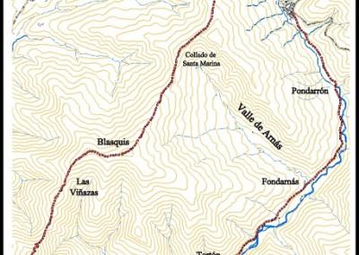 """Ruta BTT o LR: Valle de los pajares """"espaldaos"""""""