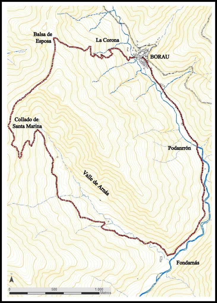 El Valle de Arnás BORAU -SENDA GR ESPOSA- BALSA DE E