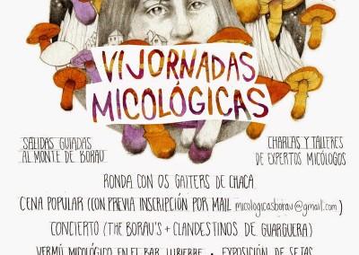 Jornadas micológicas primaverales de Borau  2015
