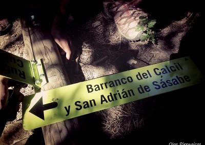 Ruta Circular al Barranco del Calcil. Foto: Ojospirenaicos.es