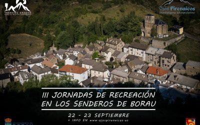 III Jornadas de Recreación en los Senderos de Borau – 22 y 23 de Septiembre